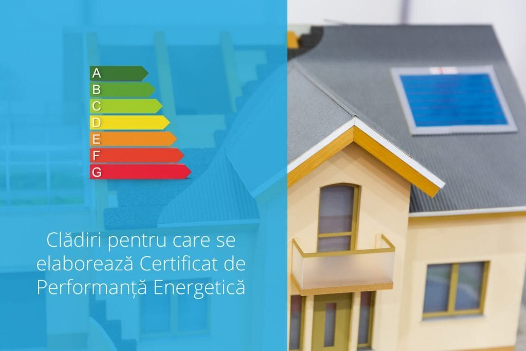 Pentru ce clădiri se poate elibera CPE?